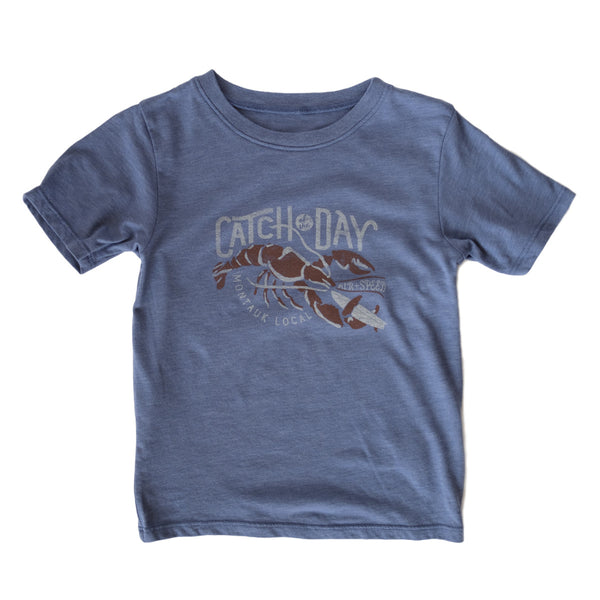 CATCH OF THE DAY KIDS T-SHIRT - Moroccan Blue