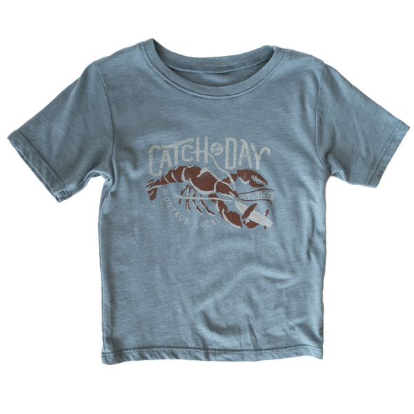 CATCH OF THE DAY KIDS T-SHIRT - Seawater