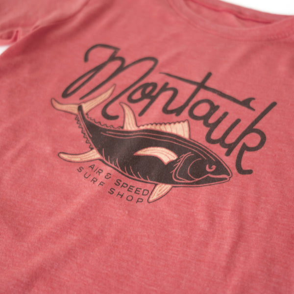 TUNA TIME YOUTH T-SHIRT -Tomato Red