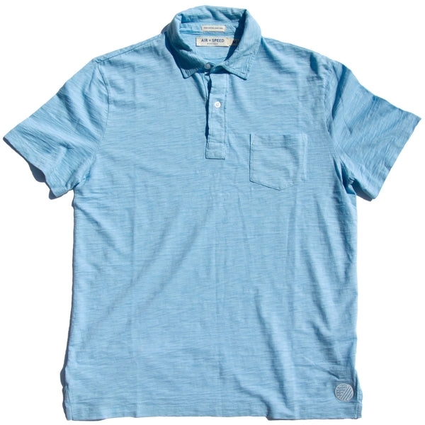 BREEZE POLO - Acadia Blue
