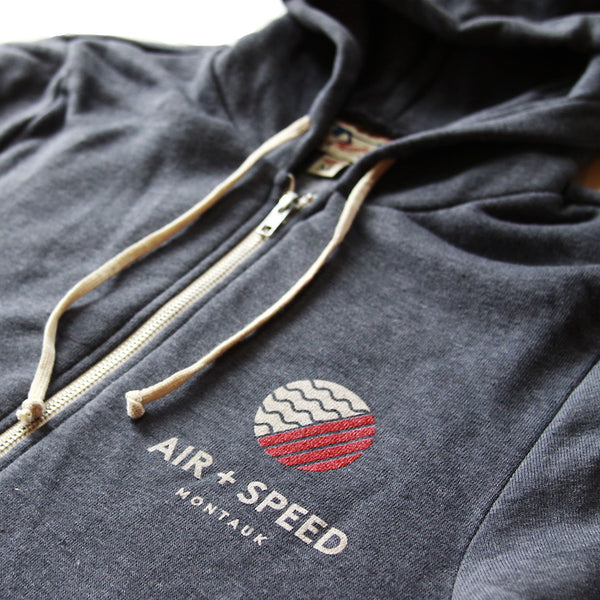 HERITAGE FLEECE - Heather Navy