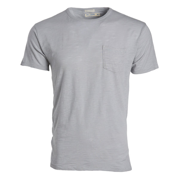BREEZE CREW NECK  - Harbour Grey