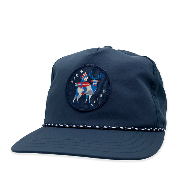 NATIVE PATCH HAT - Admiral Navy with Navy Patch