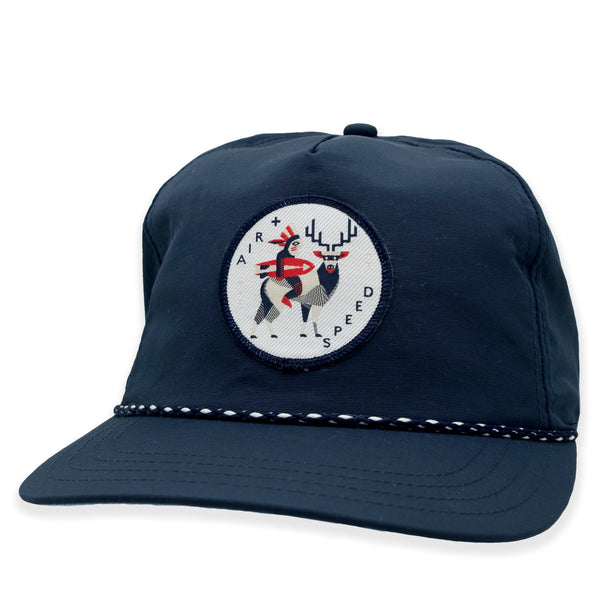NATIVE PATCH HAT - Admiral Navy