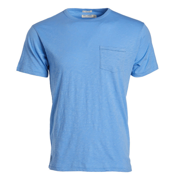 BREEZE CREW NECK  - Riviera Blue