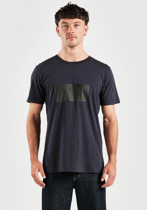 Res Block Tee - Midnight Navy