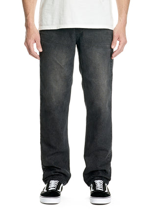 Rogue Wide - Washed Black - RES Denim