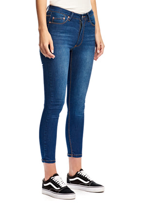 Kitty Skinny - Deep Blue - RES Denim