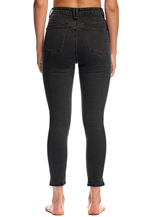 Harrys Hi Crop Skinny - Phantom - RES Denim