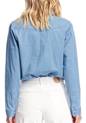 Bianca Shirt - Sail Blue