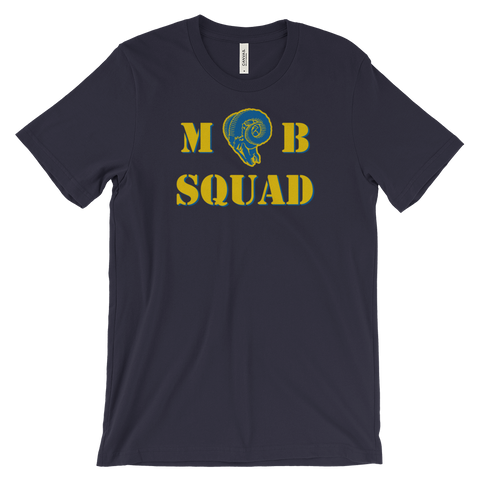 """Mob Squad"" Tee (Gold)"