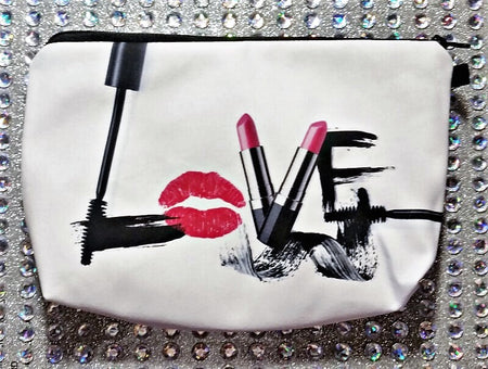 Dotty Lips Cosmetics Bag