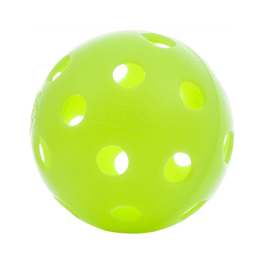 Jugs Indoor Pickleball (12 pack) - Lime Green
