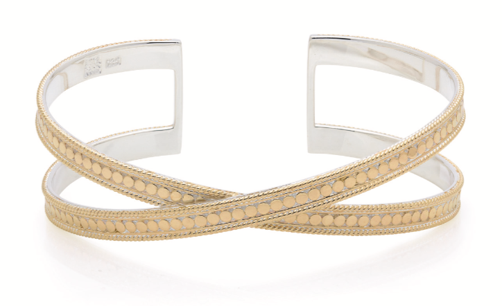 Cross Cuff, Gold
