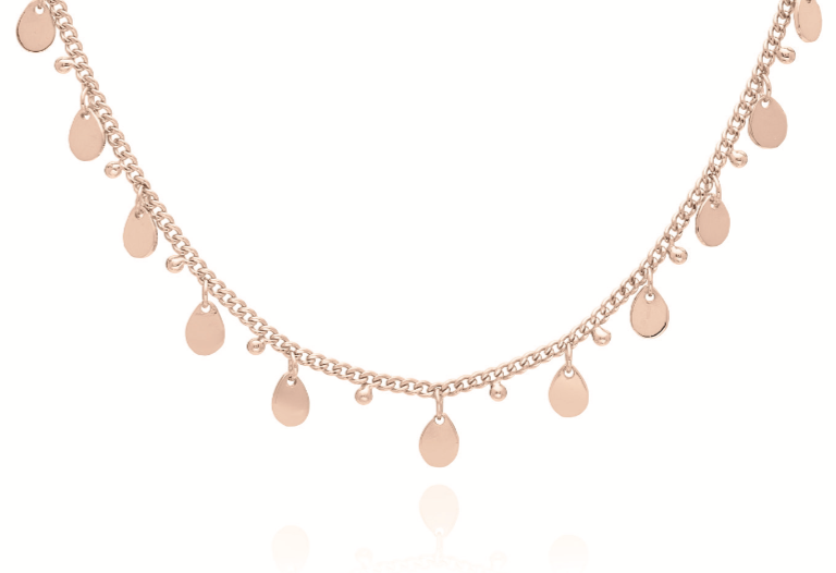 Petite Charm Collar Necklace