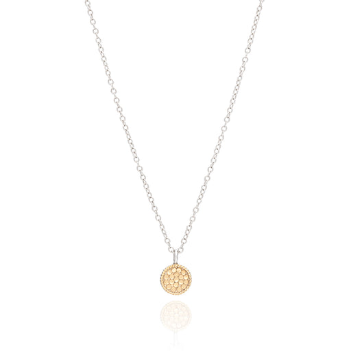 Mini Circle Necklace - Gold