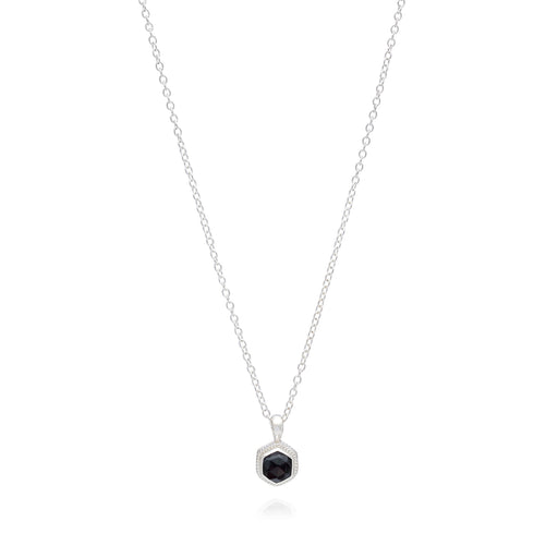 Limited Edition: Hematite Geo Stacking Necklace - Silver