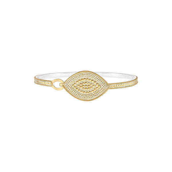 Marquise Hook Clasp Bracelet - Gold