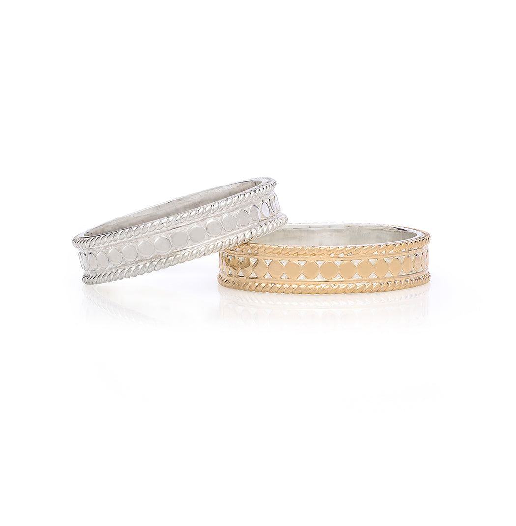 Stacking Rings (Set of 2) - Gold & Silver