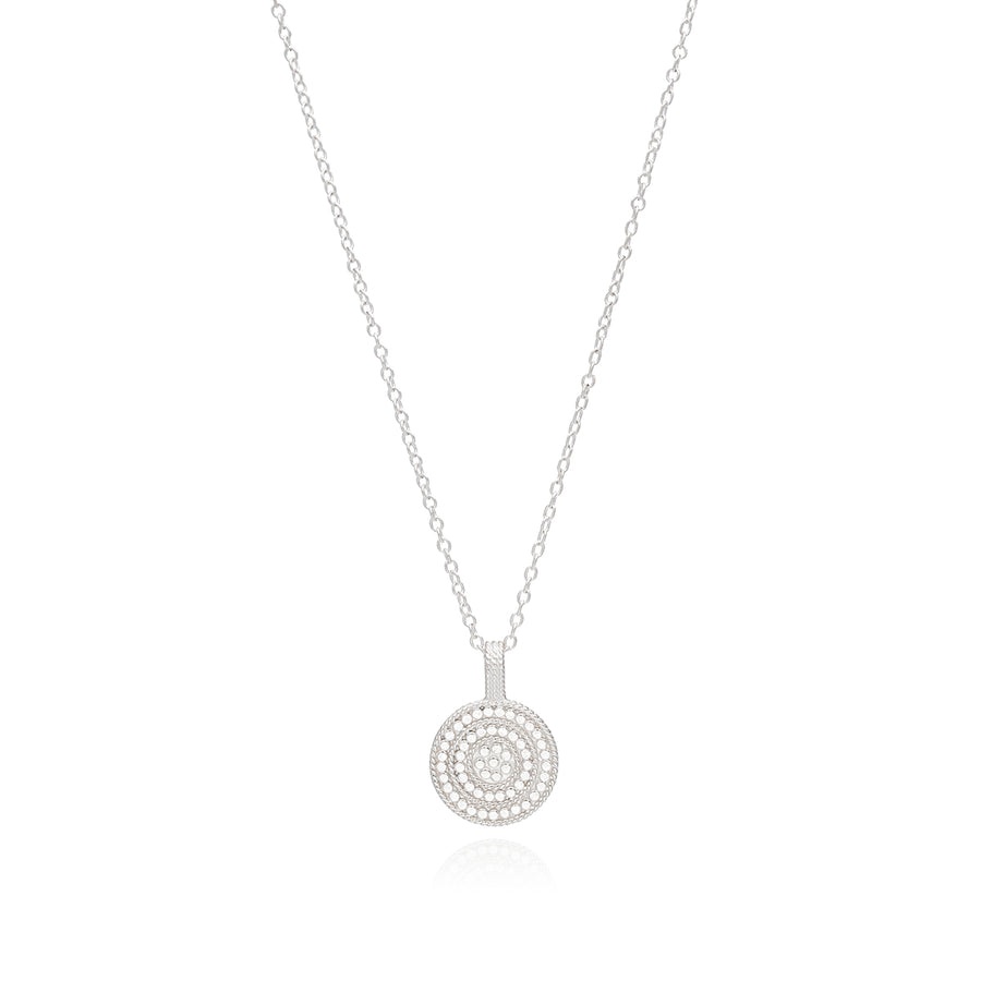 Circle of Life Divided Disc Charity Necklace - Gold