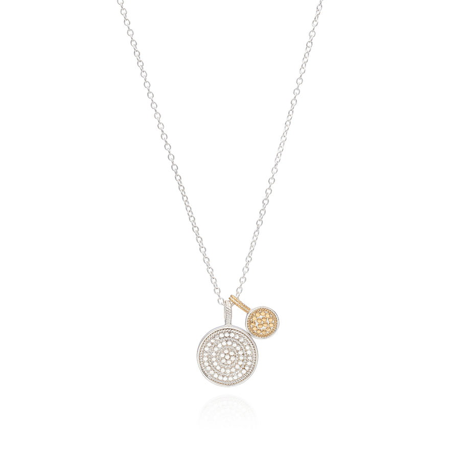 Circle of Life Dual Divided Disc Charity Necklace
