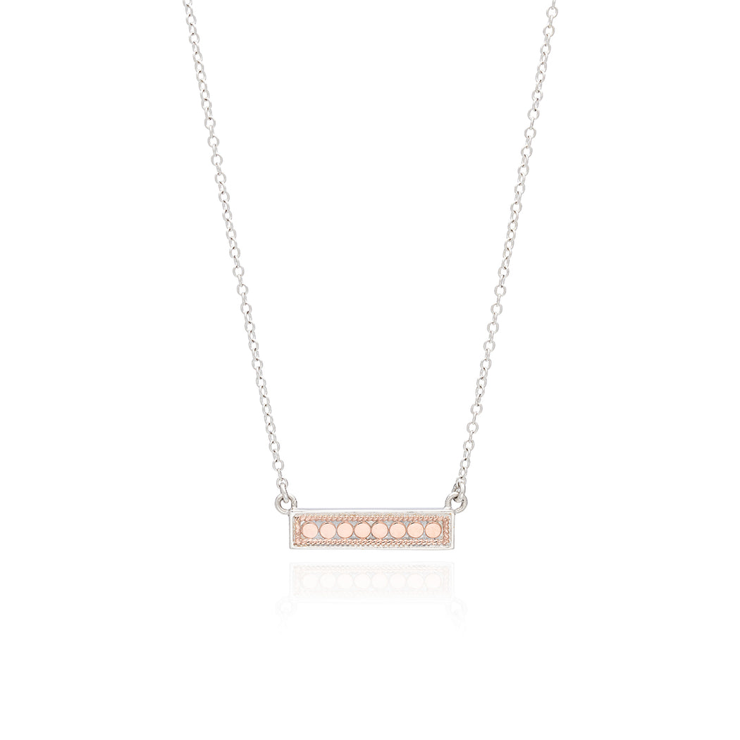Bar Necklace - Rose Gold