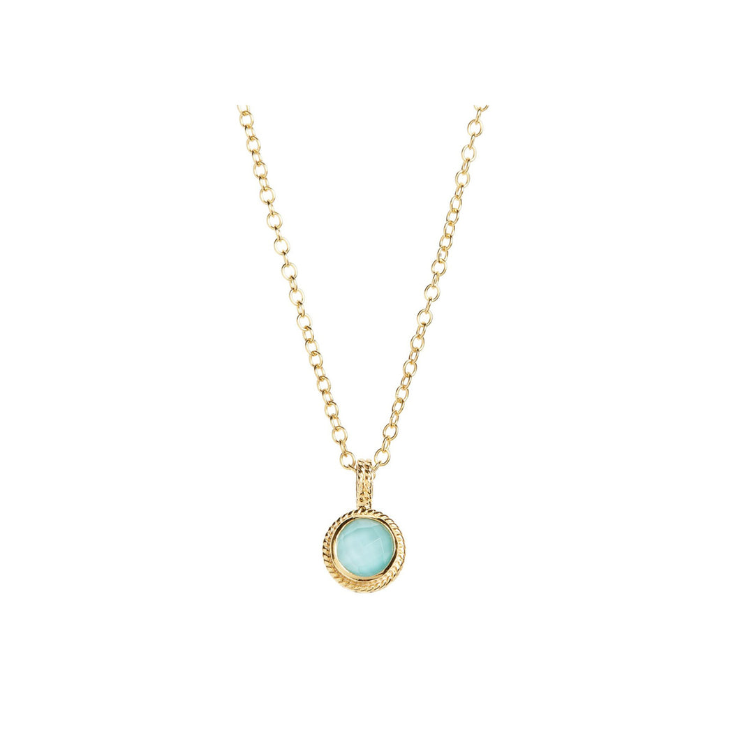 Turquoise Small Pendant Necklace