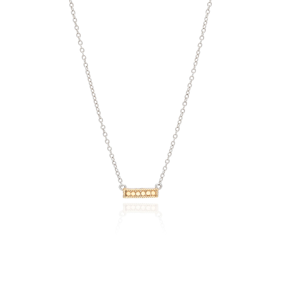 Classic Small Bar Necklace - Reversible