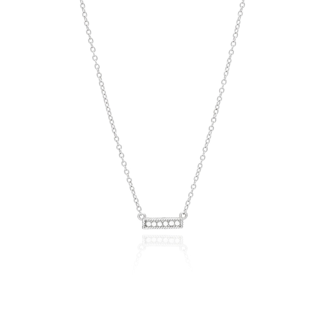 Small Bar Necklace - Reversible