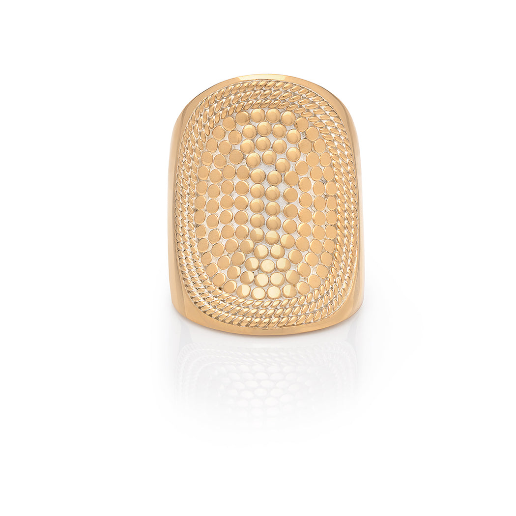 Saddle Ring - Gold