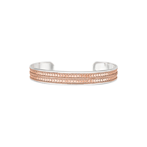Beaded Cuff - Rose Gold