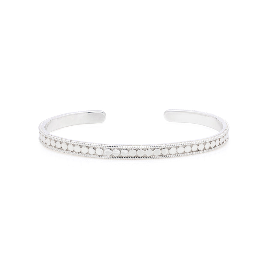 Classic Stacking Cuff - Silver
