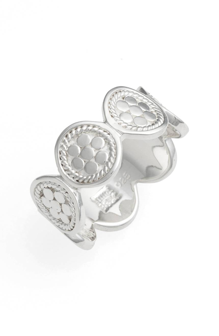 Multi-Disc Ring - Silver