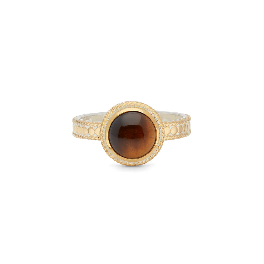 Tiger's Eye Stacking Ring