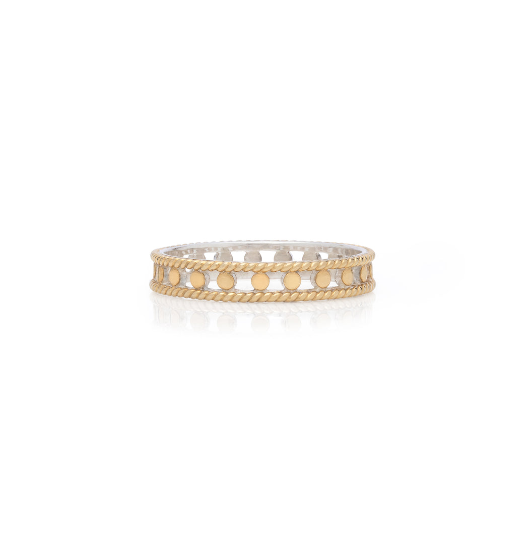 Open Circle Stacking Ring - Gold
