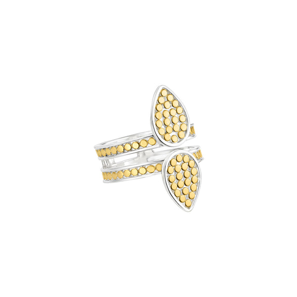 Signature Double Triangle Ring - Gold