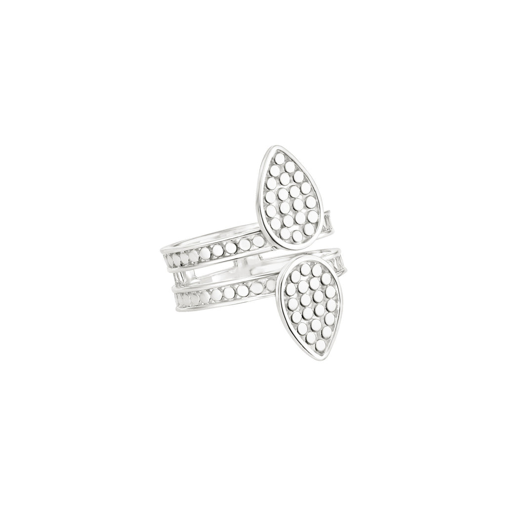 Signature Double Triangle Ring - Silver