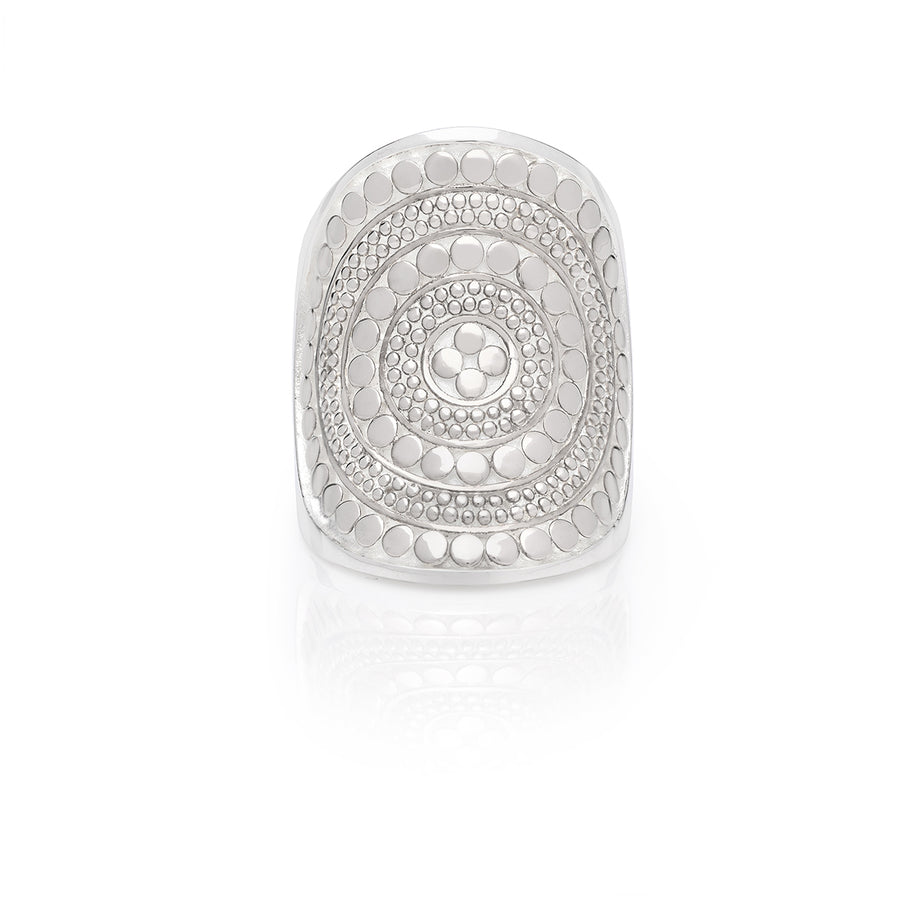 Classic Saddle Ring - Silver