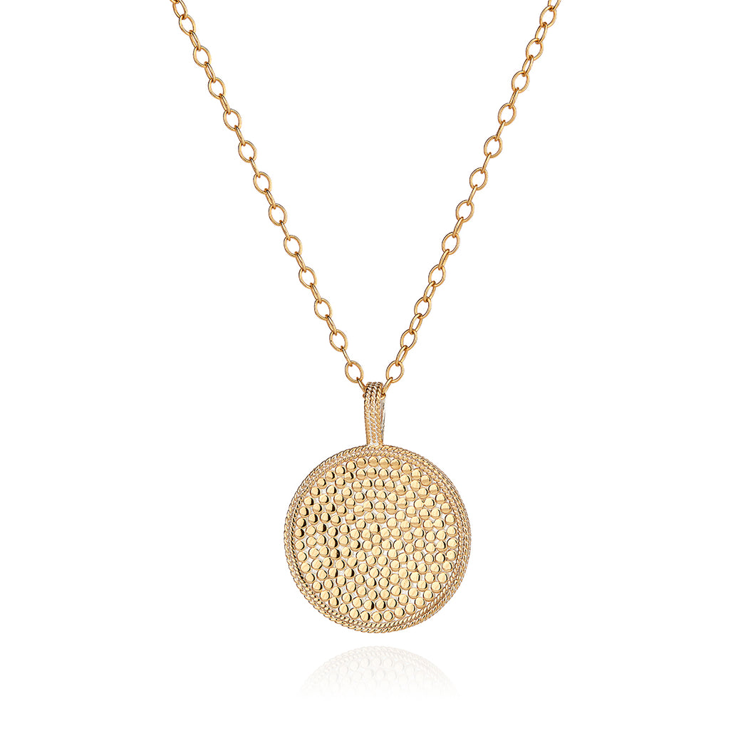 Guava Pendant Necklace - Gold