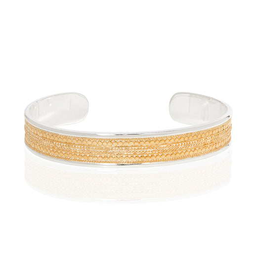Signature Beaded Cigar Cuff - Gold