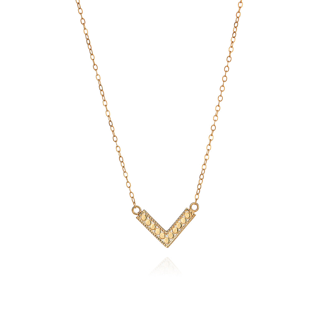Mini Arrow Necklace - Gold