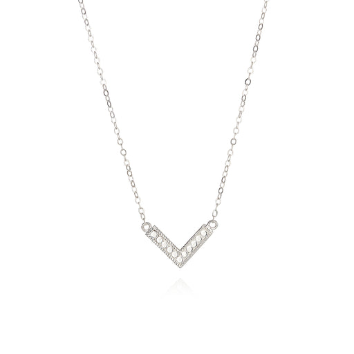 Mini Arrow Necklace - Silver