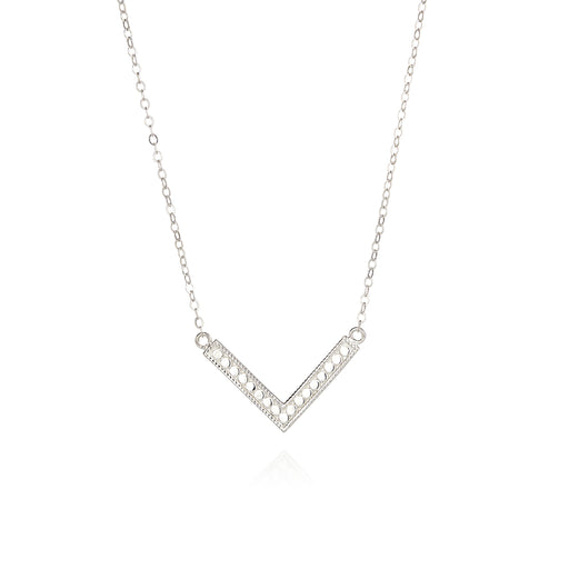 Medium Arrow Necklace - Silver