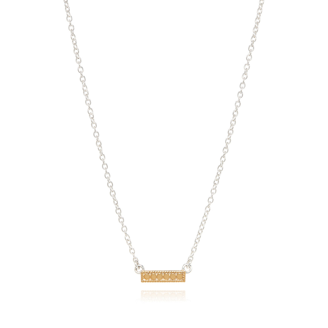 Engravable Mini Bar Necklace