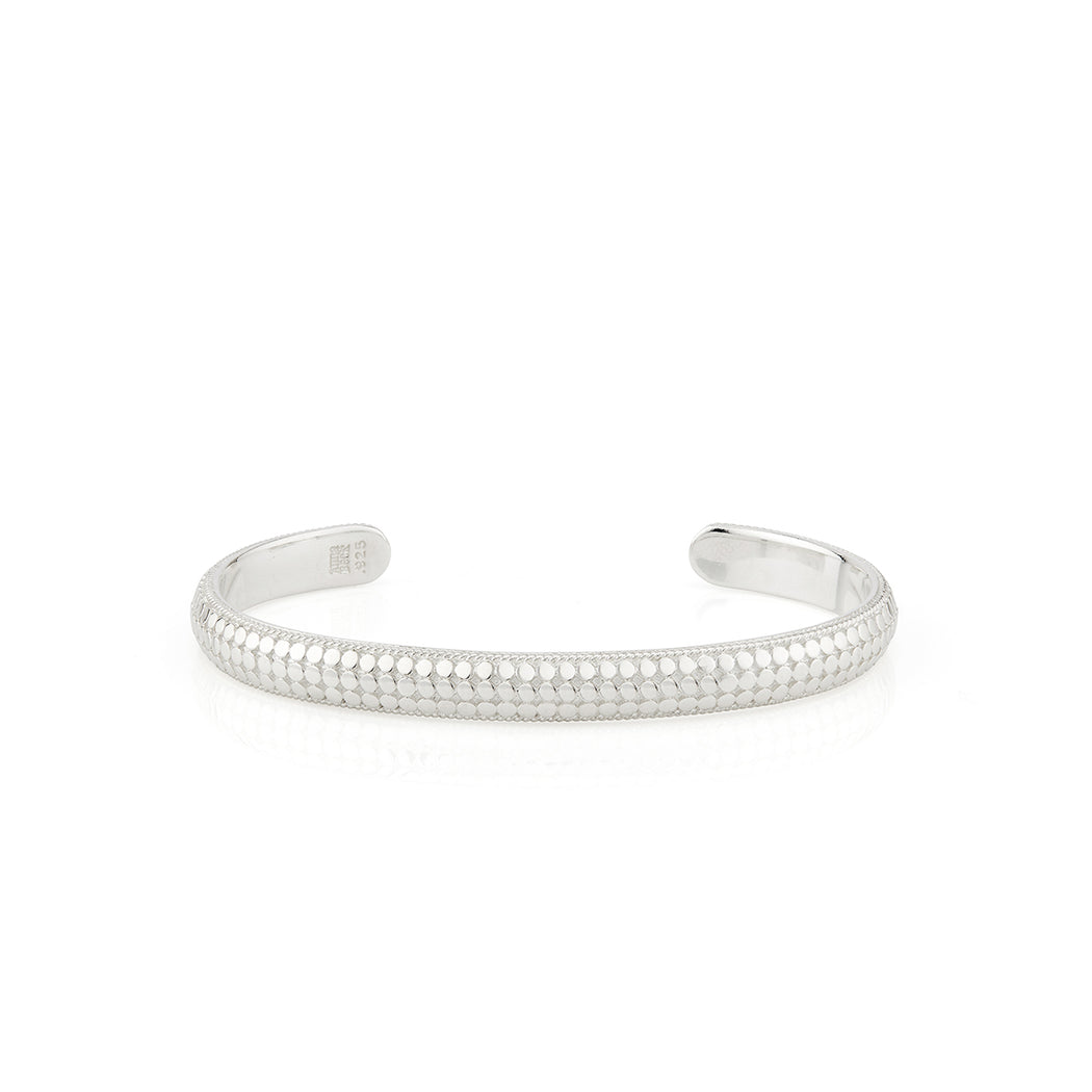Limited Edition Dome Cuff - Silver