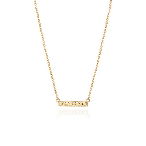 Medium Bar Necklace - Gold