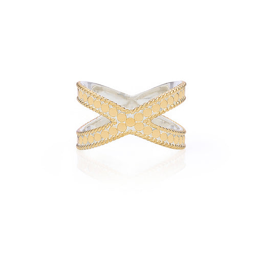 Classic Cross Ring - Gold