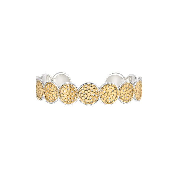 Multi-Disc Cuff- Gold