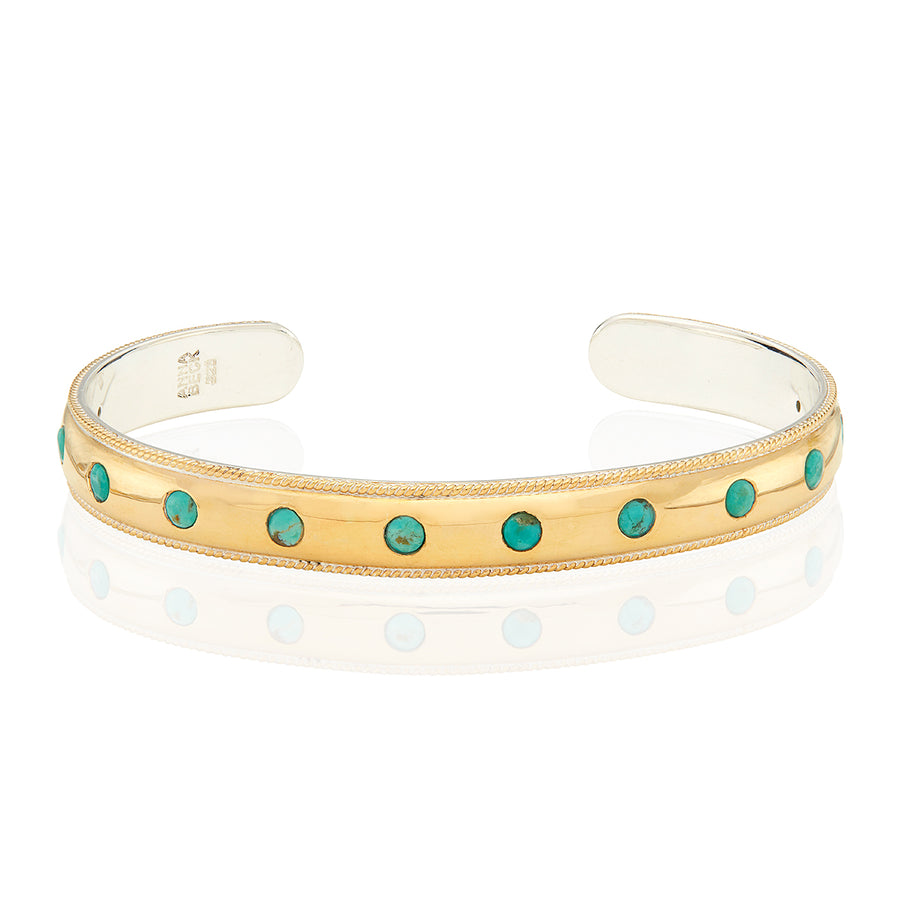 Turquoise Smooth Dome Cuff
