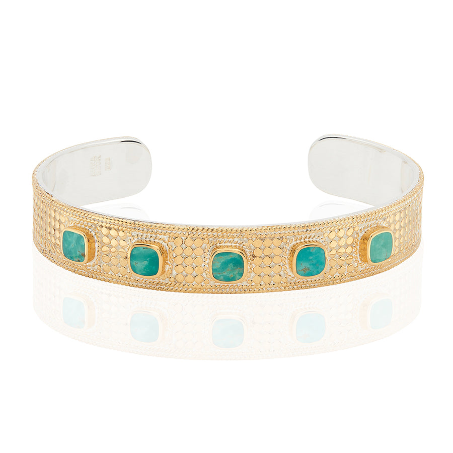 Turquoise Multi-Cushion Cuff